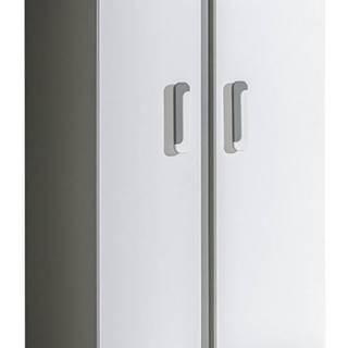 Šatní skříň APETTITA 1, antracit/bílá
