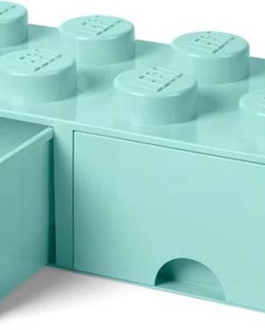 Mentolově zelený úložný box se dvěma šuplíky LEGO®