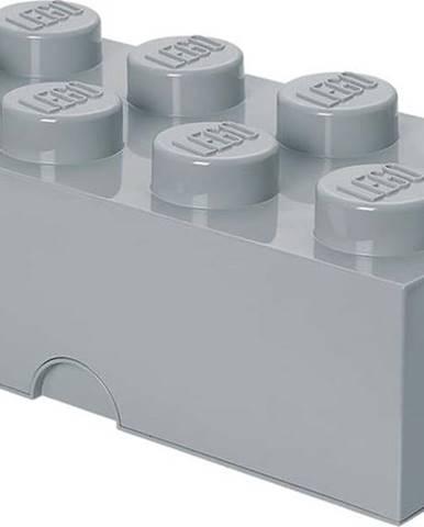 Šedý úložný box LEGO®