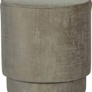 Světle hnědý puf vtwonen Pearl, ø 40 cm