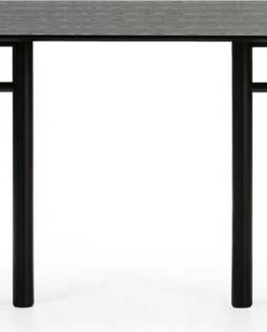 Černý oválný jídelní stůl Teulat Junco, délka 200 cm