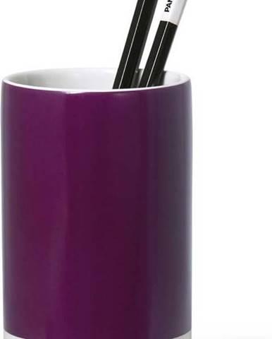 Fialový keramický stojánek na tužky Pantone