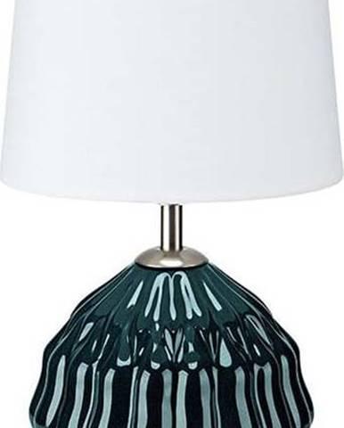 Zeleno-bílá stolní lampa Markslöjd Lora