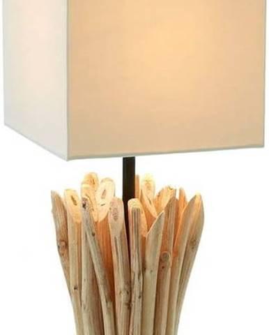 Béžová stolní lampa La Forma Poob