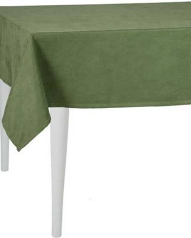 Zelený ubrus Mike&Co.NEWYORK Duskwood, 140 x 180 cm