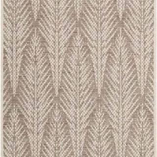 Hnědobéžový venkovní koberec Bougari Pella, 70 x 200 cm