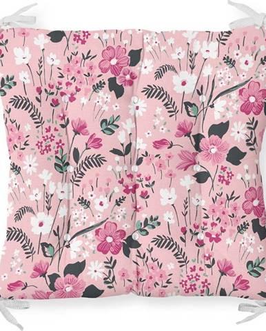 Podsedák s příměsí bavlny Minimalist Cushion Covers Blossom,40x40cm