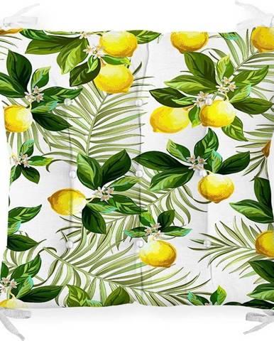 Podsedák s příměsí bavlny Minimalist Cushion Covers Lemon Tree,40x40cm