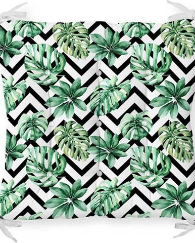 Podsedák s příměsí bavlny Minimalist Cushion Covers Palm Leaves,40x40cm
