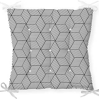 Podsedák s příměsí bavlny Minimalist Cushion Covers CrisCros,40x40cm