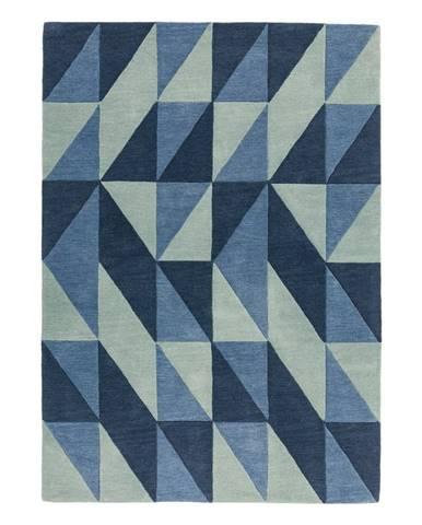 Modrý koberec Asiatic Carpets Flag, 160 x 230 cm
