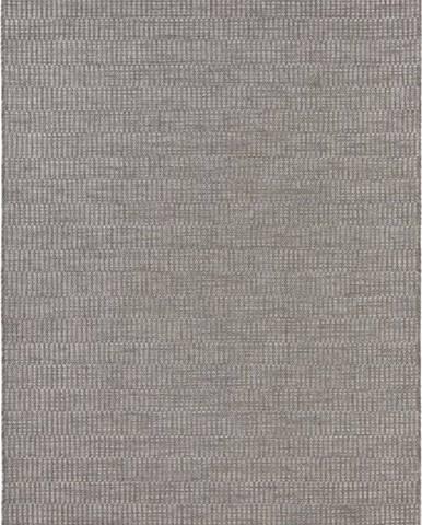 Šedý koberec vhodný i na ven Elle Decoration Brave Dreux, 200 x 290 cm