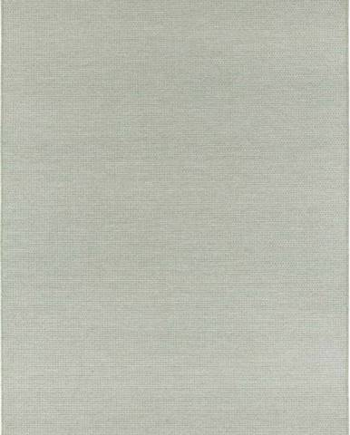 Světle zelený koberec vhodný i na ven Elle Decor Secret Millau, 80 x 150 cm
