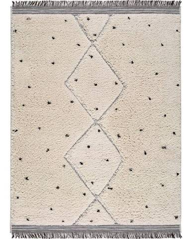 Béžový koberec Universal Horizon Dots, 76 x 150 cm