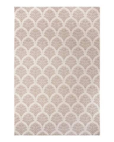 Béžový venkovní koberec Ragami Moscow, 120 x 170 cm
