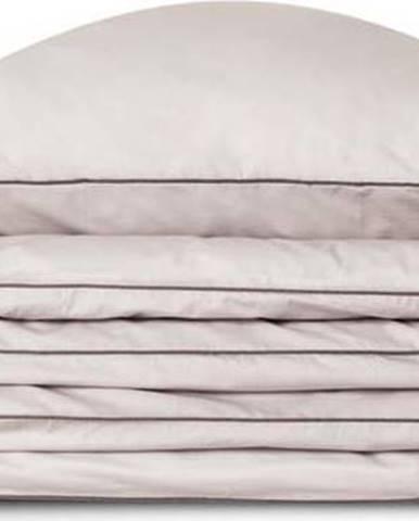 Světle šedý bavlněný povlak na polštář WeLoveBeds Perla,70x80cm