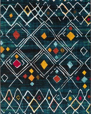 Zelený koberec Universal Sheki, 80 x 150 cm