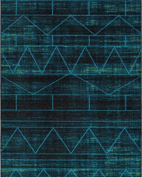 Universal Modrý koberec Universal Neon Blue, 80 x 150 cm