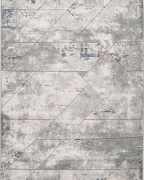 Universal Šedý koberec Universal Berlin Line, 133 x 190 cm