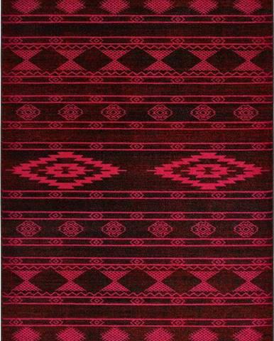 Fialový koberec Universal Neon Dark, 80 x 150 cm