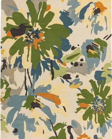 Koberec Asiatic Carpets Floral Green Multi, 160 x 230 cm