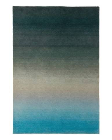 Modro-šedý koberec Asiatic Carpets Ombre, 120 x 170 cm