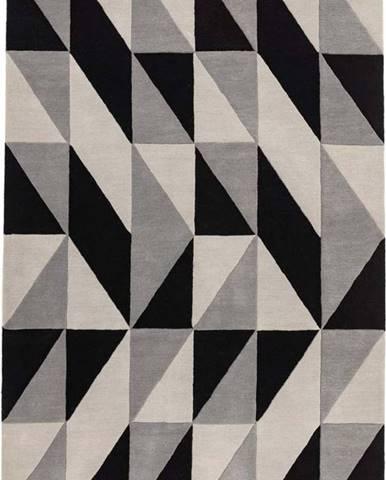 Šedý koberec Asiatic Carpets Flag, 160 x 230 cm