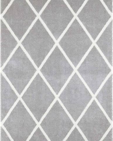 Světle šedý koberec Elle Decor Maniac Lunel, 160 x 230 cm