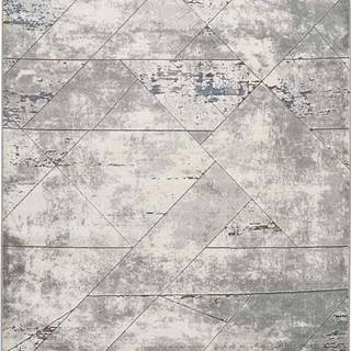 Šedý koberec Universal Berlin Line, 133 x 190 cm