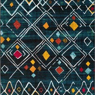 Zelený koberec Universal Sheki, 120 x 170 cm