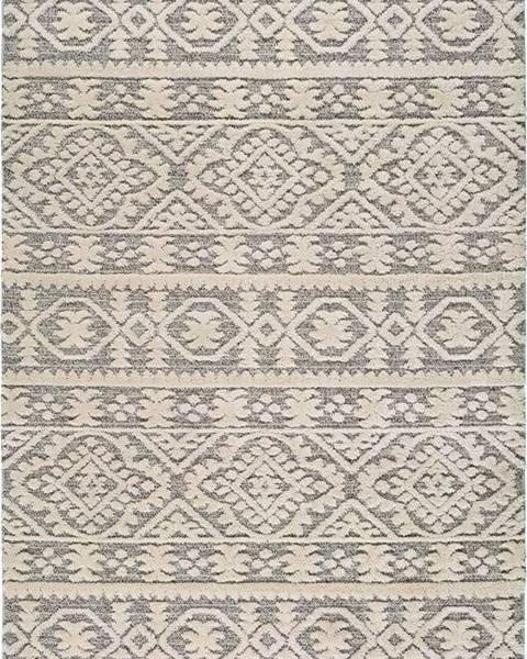 Universal Béžový koberec Universal Piazza Ornament, 133 x 190 cm