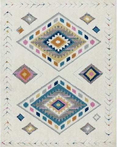 Béžový koberec Asiatic Carpets Rhombus, 120 x 170 cm