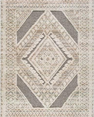 Béžový koberec Universal Piazza Geo, 160 x 230 cm