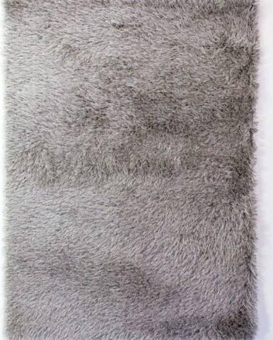 Šedý koberec Flair Rugs Dazzle, 60 x 110 cm