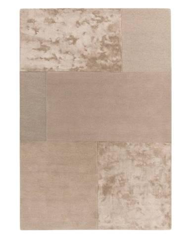 Krémový koberec Asiatic Carpets Tate Tonal Textures, 200 x 290 cm