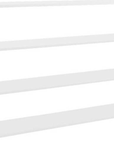 Bílá kovová knihovna Custom Form Hyller, výška 110 cm