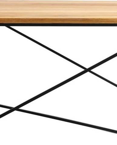 Konferenční stolek v dekoru dubového dřeva Custom Form Memo, 100 x 100 cm