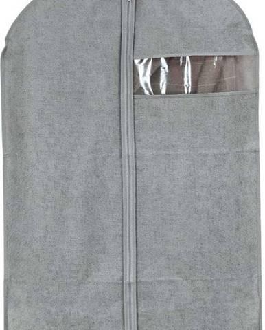 Šedý obal na oblek Domopak Stone