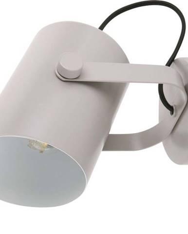 Šedá nástěnná lampa Leitmotiv Snazzy