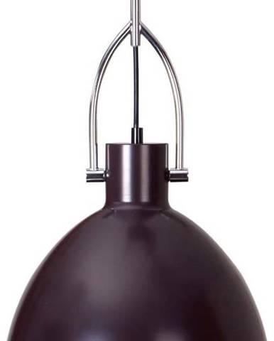 Tmavě hnědé stropní svítidlo z kovu sømcasa CanetSimat, ø28cm