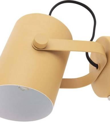 Žlutá nástěnná lampa Leitmotiv Snazzy