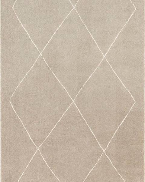 Elle Decor Béžovo-krémový koberec Elle Decor Glow Massy, 200 x 290 cm