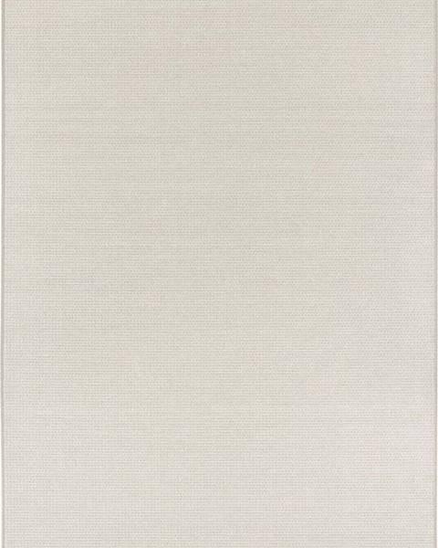 Elle Decor Krémovobéžový koberec vhodný i na ven Elle Decor Secret Millau, 140 x 200 cm