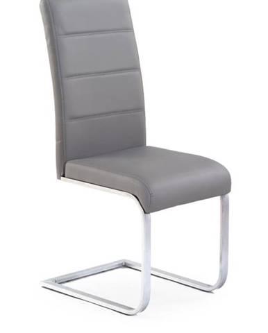 Halmar Jídelní židle K85, šedá