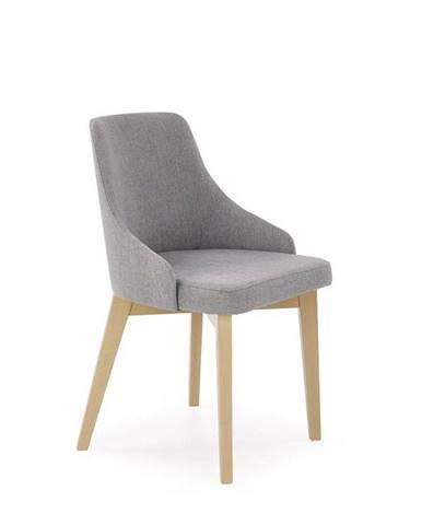 Halmar Jídelní židle TOLEDO, dub sonoma/INARI 91