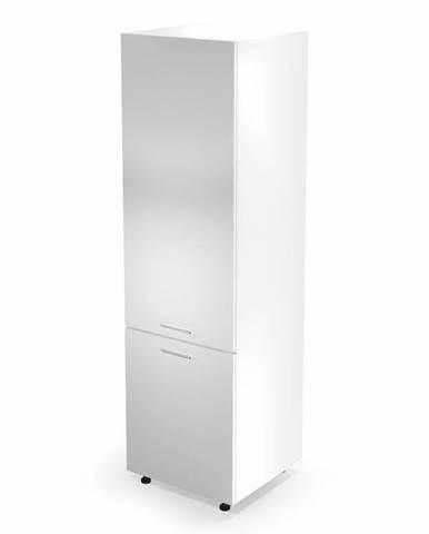 Dolní vysoká skříňka VENTO DL-60/214, dvířka: bílý lesk