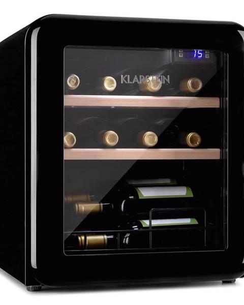 Klarstein Klarstein Vintage 12, chladnička na nápoje, chladnička, 46 litrů, 4–22 °C, retro design