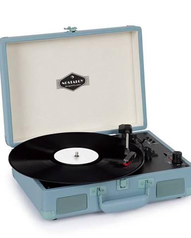 Auna Peggy Sue BT, gramofon, stereo reproduktor, USB, BT, přenosný