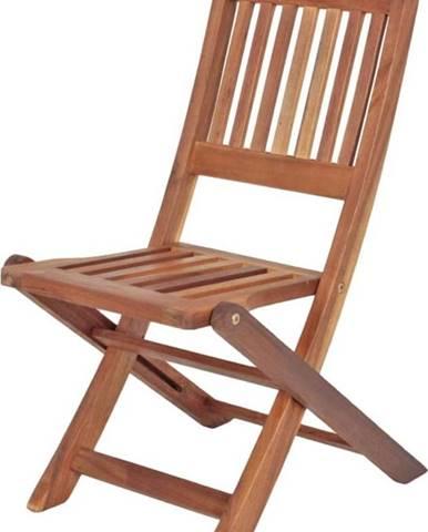 Dětská zahradní skládací židle z eukalyptového dřeva ADDU Montana