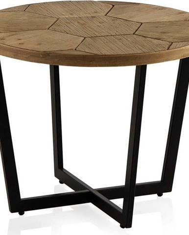 Konferenční stůl s černou železnou konstrukcí Geese Honeycomb